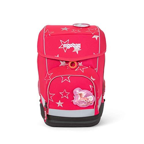 Ergobag cubo CinBärella, ergonomischer Schulrucksack, Set 5-teilig, 19 Liter, 1.100 g, Pink