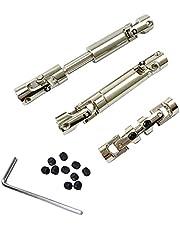 Sankuai Eje de transmisión Universal de 1set Metal CVD para MN86K MN86KS MN86 MN86S MN G500 1/12 RC Piezas de actualización de automóviles Accesorios de Repuesto