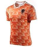 YANDDN Camisetas de fútbol Retro Camiseta de fútbol del Equipo Nacional holandés de la Copa...
