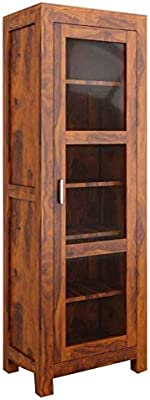 The Attic Victoria Kitchen Cabinet (Honey)