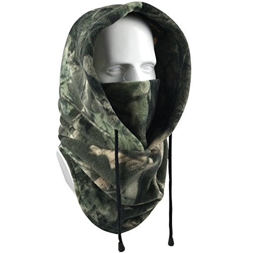 Your Choice Balaclava Face Mask Thick Thermal Fleece Hood Windproof Neck Warmer for Ski Hunting Snowboarding Work Outdoor Winter Sports and Activities, Color Camo