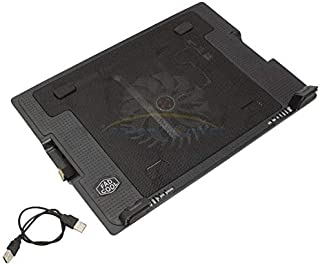 9 Inch To 17 Inch Laptop PC 2 USB Cooling Powerf 1 Fan Cooler Adjustable Stand Pad Black
