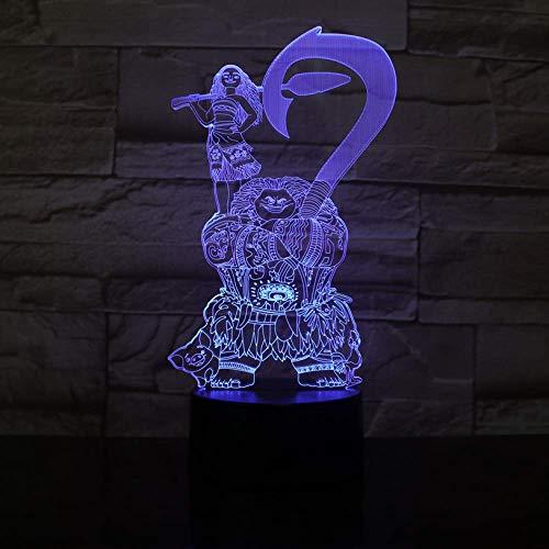 3D Illusion Nachtlicht Moive Thema dekorative Kinder Kinder Schlafzimmer Dekor beste coole 3D Nacht Lampe USB Batterie Nachtlicht LED Nachtlicht Xi521