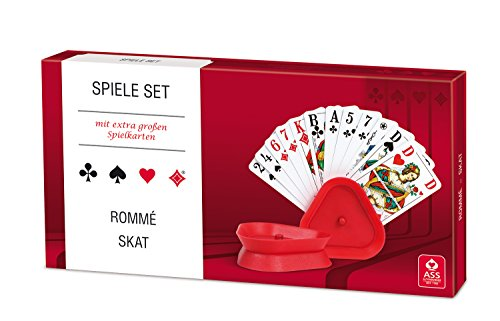 ASS Altenburger 22570302 - Kartenspiel Set - Rommé/ Skat