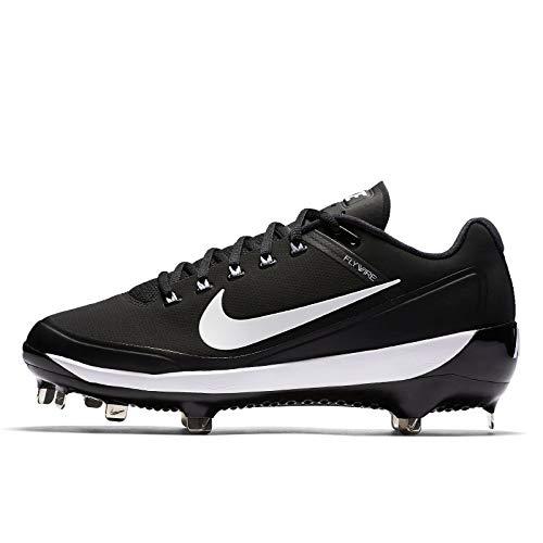 Nike New Men's Air Clipper 17 Baseball Cleats US 13 Black/White