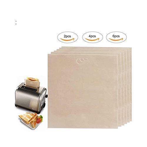 16 * 16.5 cm 6 unids Bolsas Tostadoras para Sándwiches de Queso Asado Fácilmente Reutilizable Antiadherente Al Horno Pan de Tostada Bolsas
