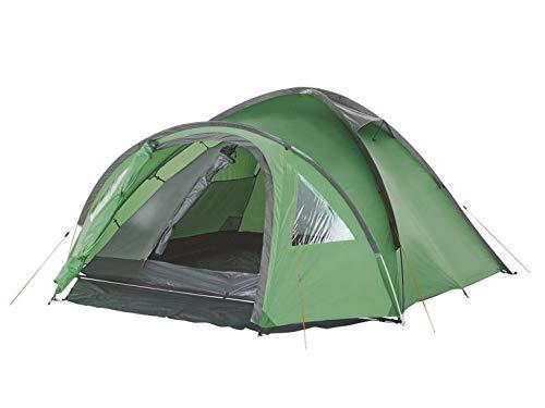 Crivit - Tienda de campaña iglú de doble techo para 4 personas