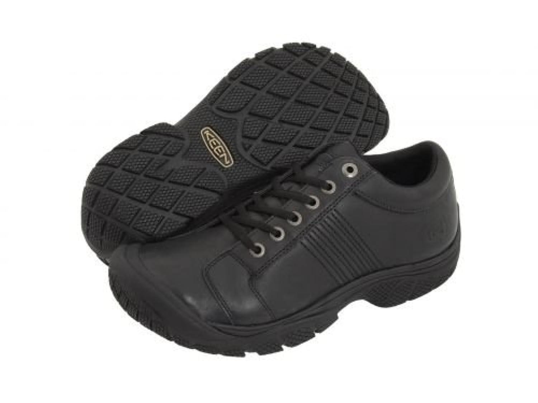 [キーン] Utility メンズ 男性用 シューズ 靴 スニーカー 運動靴 PTC Oxford - Black [並行輸入品]