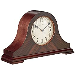 Bulova Clocks Norwalk, Walnut Finish
