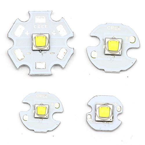 10W XML XM-L T6 LED U2 Kühles Weiß Blau UV High Power LED Emitter diode mit 16mmPCB für DIY (16MM Kühles Weiß)