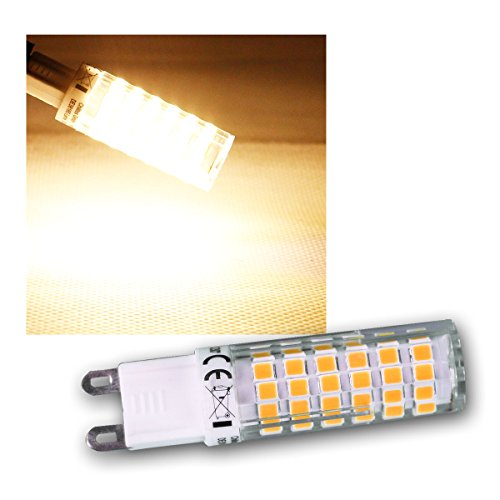 LED Stiftsockel G9, 6W, 540lm, 3000k, 330°, 230V, warmweiß