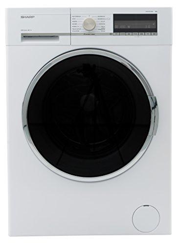 Sharp ES-GFC9144W3-DE Waschmaschine / A+++ / 9kg / 1400 UpM / AquaStop / 15 verschiedene Programme / LCD-Display / besonders stromsparend
