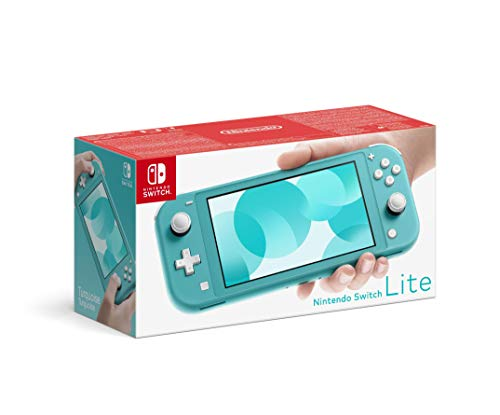 Nintendo Switch Lite - Consola color Azul Turquesa, Edición  Estandar