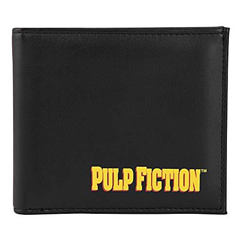 Pulp Fiction - Leder-Geldbörse - Vintage-Poster-Print mit Mia Wallace - offizielles Merchandise - Geschenk