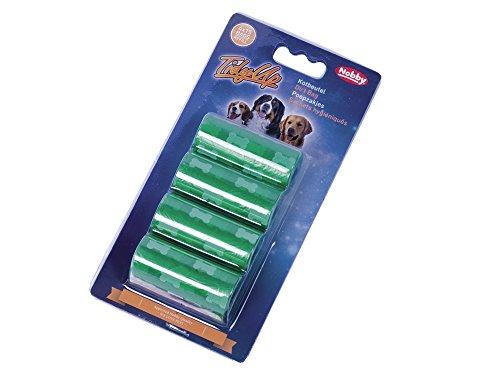 Nobby Set de 4 Sachets Hygiéniques pour Chien Motif Os Vert