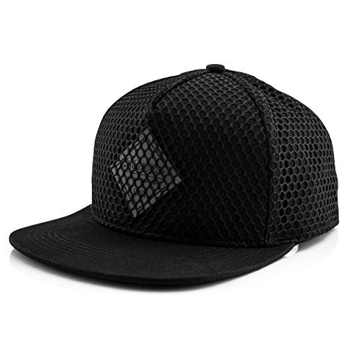 Blackskies Andromeda Snapback Cap Schwarz Unisex Baseball Mütze Mesh Style