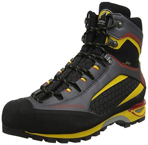 LA SPORTIVA Trango Tower GTX, Stivali da Escursionismo Alti Unisex-Adulto, Multicolore (Black/Yellow 000), 40.5 EU