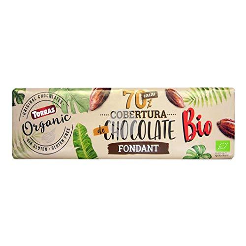 COBERTURA DE CHOCOLATE FONDANT BIO 70% CACAO TORRAS