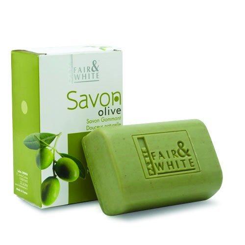 Fair and White Original Exfoliating Soap - Repairing & Nourishing, 200g / 7oz - with Olive Oil