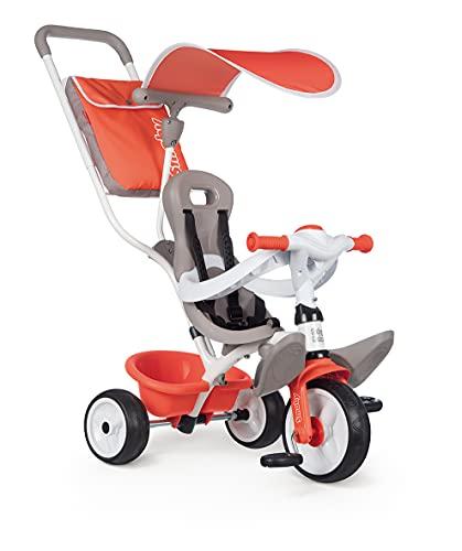 Smoby- Triciclo Baby Balade Rojo (741405), Color (741105)