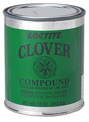 240 Grit, B Grade, Greased Based, Silicon Carbate, Loctite Clover Lapping Compound (1 Each)