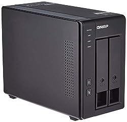top 10 2 bay nas enclosure QNAP TR-002 2-bay hard drive enclosure, direct-attached storage (DAS) with hardware RAID USB 3.2…