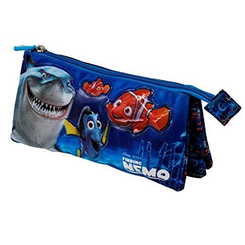 Buscando a Nemo Sea-Estuche Portatodo Triple