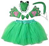 Kirei Sui Kids Animal Costume Tutu Set Crocodile