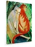 weewado Franz Marc - Katzen, rot und weiß - 1912 50x75 cm