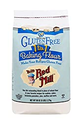 "Bob's Red Mill Gluten Free 1 to1 Balking Flour works best for cakes. <a href=""https://www.amazon.com/gp/product/B00SHY3IAA/ref=as_li_tl?ie=UTF8&amp;camp=1789&amp;creative=9325&amp;creativeASIN=B00SHY3IAA&amp;linkCode=as2&amp;tag=ris15-20&amp;linkId=438c08984cb418f0218d115566d55e7d"" target=""_blank"" rel=""nofollow noopener""><span style=""color: #0000ff;""><b><u>Buy some on Amazon today.</u></b></span></a>"