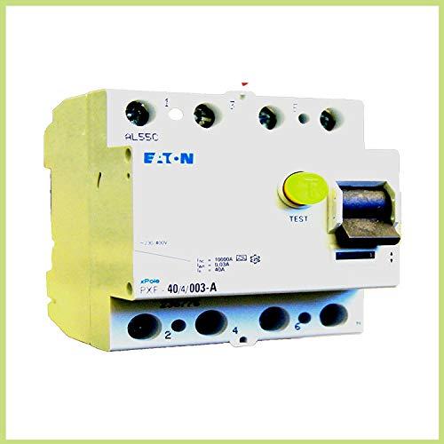 Eaton 236776 Fi-Schutzschalter 4 Polig, 40A, 30mA, PXF 40/4/0.03A