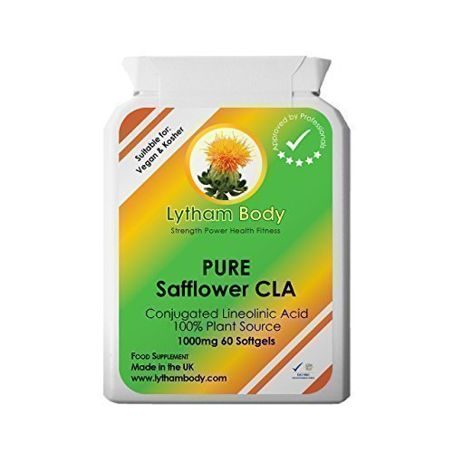 CLA, Conjugated Linoleic Acid 1000mg x 30 capsules 100% Pure Plant Source vegetarian/vegan capsules - NO Bovine content. Only Pure Safflower oil. Weight loss & Definition and toning, Excellent Antioxidant, helps cholesterol and stabilises blood sugar levels an excellent natural pure product. Suitable for Vegetarians and Vegans. …