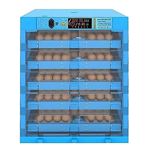 FZYE Incubadora Incubadora de Huevos Máquina incubadora Pantalla Digital automática Control de Temperatura Aves de Corral Pollito Pato Máquina para incubar (Tamaño: 320 Huevos)
