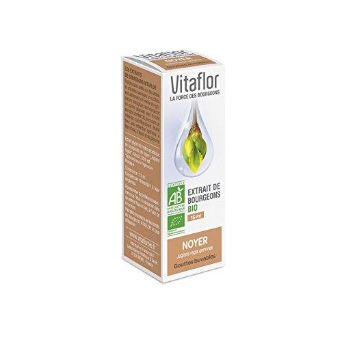 Vitaflor Extrait de Bourgeons Bio Noyer 15 ml