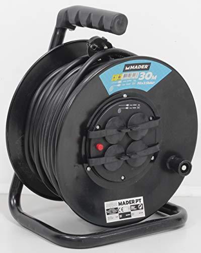 Mader Home Tools 68018 Prolongador Eléctrico 30mx2.5mm2-68018