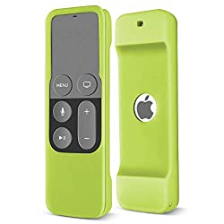 Specially designed to fit Apple TV 4th / 5th Generation Siri remote control Made from soft durable silicone, this protective case provides better grip and drop protection for your Apple TV remote control Precise cutouts allow all buttons and function...