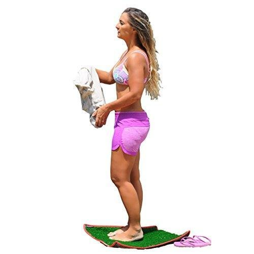 Dorsal Surfer Changing Pad Surf Grass Mat for Wetsuits Change
