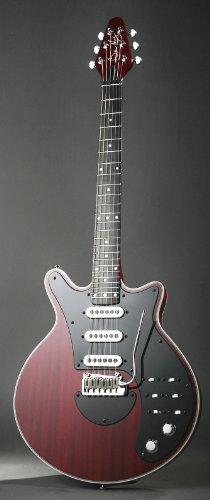 Brian May Especial - Guitarra eléctrica retro, color rojo cereza