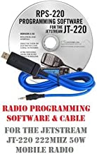 JetStream JT-220M (JT220M) 222 MHz Mobile Two-Way Radio Programming Software & Cable Kit