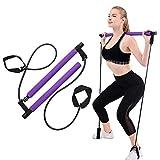shuxuanltd Cintas Elasticas Musculacion Bandas Elasticas Musculacion Glute Bandas Bandas de Resistencia para piernas y glúteos Purple,One Size