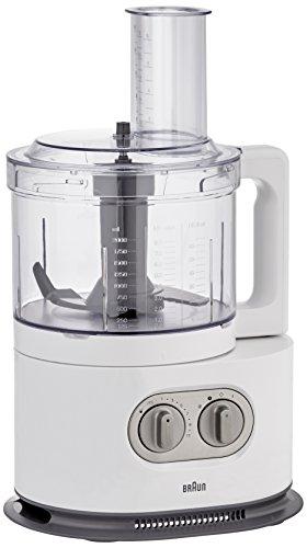 Braun FP5160WH Robot Culinaire Tritan Noir 1000 W
