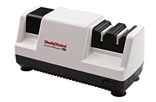 Chef's Choice Professional Diamond Hone Electric Knife Sharpener for 20-Degree Knives, 3-Stage, White (B00004S1B9)   Amazon price tracker / tracking, Amazon price history charts, Amazon price watches, Amazon price drop alerts