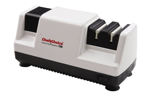 Chef's Choice Professional Diamond Hone Electric Knife Sharpener for 20-Degree Knives, 3-Stage,...
