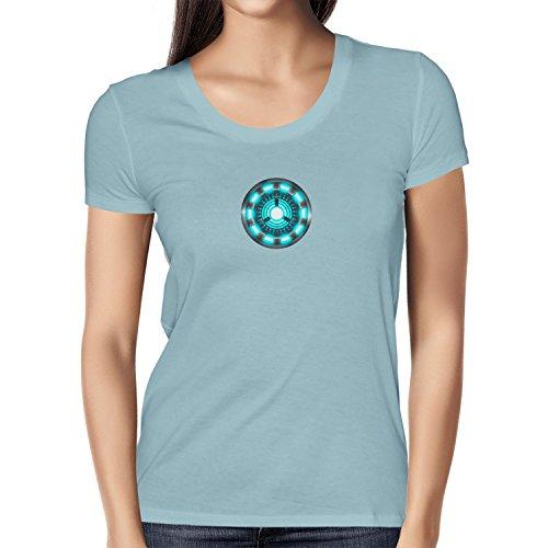 Texlab Damen Arc Reactor T-Shirt, Hellblau, M