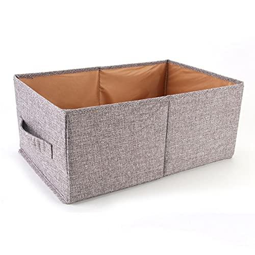 SJZERO Caja de Almacenamiento Plegable sin Tapa Ropa no Tejida Toallas Mantas Juguetes Caja de Almacenamiento de Libros para armarios de Dormitorio