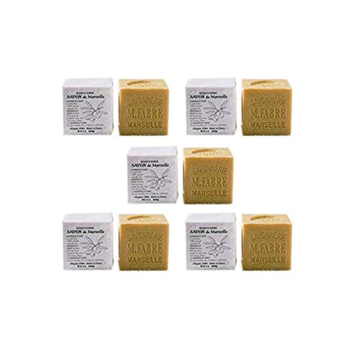 リクルート熱狂的なアコーマリウスファーブルジューン社 サボンドマルセイユ無香料200gオリーブN 5個セット(200g×5個)無添加オリーブ石鹸