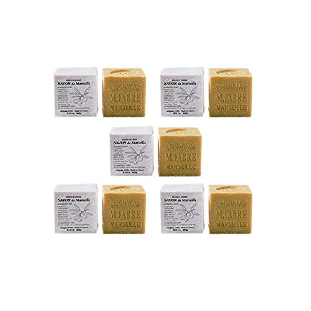 免除試験ブレンドマリウスファーブルジューン社 サボンドマルセイユ無香料200gオリーブN 5個セット(200g×5個)無添加オリーブ石鹸