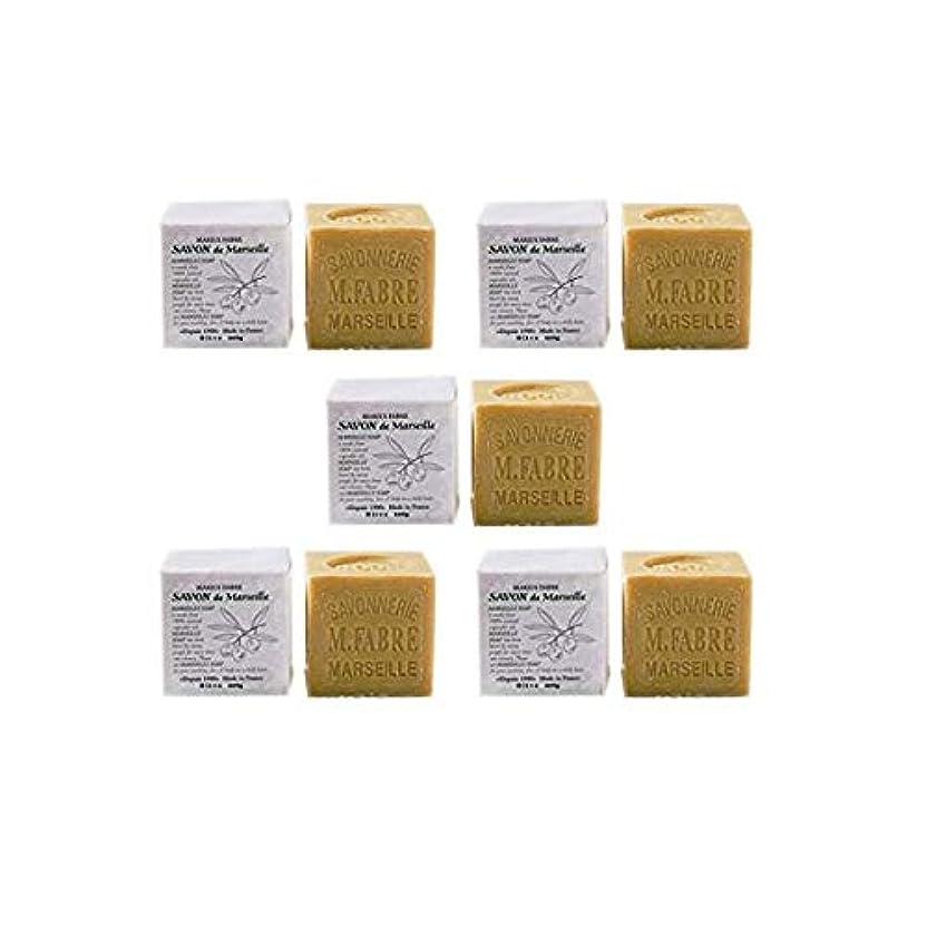 クリア鉱夫同様にマリウスファーブルジューン サボンドマルセイユ無香料200gオリーブN 5個セット(200g×5個)無添加オリーブ石鹸