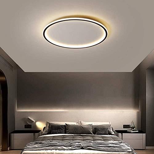 Plafoniera a LED rotonda super sottile, plafoniera da incasso a soffitto dimmerabile sottile, lampada da soffitto luminosa per soggiorno per cucina, sala da pranzo, camera da letto, balcone,