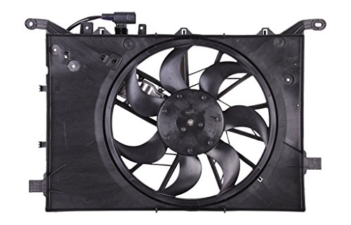 Engine Cooling Fan Assembly - Cooling Direct For/Fit VO3115115 04-09 Volvo S60 99-06 S80 5cy 04-06 S80 6cy 04-07 V70/XC70